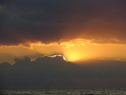 Ostsee Urlaub Sonnenuntergang