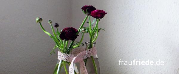 Frühlingsblumen-Deko