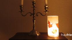 Herbstleuchten basteln