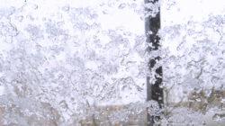 Verschneiter Sonnabend-Morgen